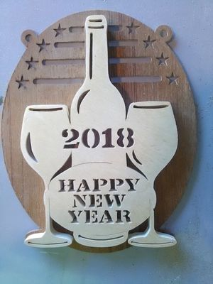 New years plaque for Sale in NC, US