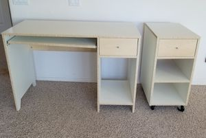 Small desk and side table for Sale in Chandler, AZ
