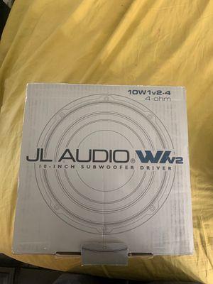 JL Audio speakers/Bocinas nuevas for Sale in Fontana, CA