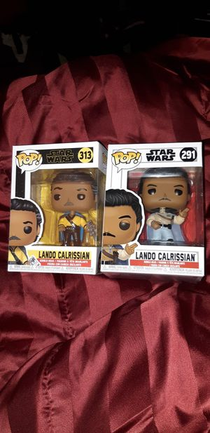 Lando Calrissian Star Wars Funko Pops for Sale in San Jose, CA
