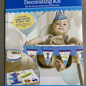First Birthday Decorating Kit for Sale in Miami, FL