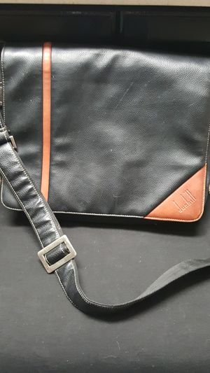 Vintage dun hill DUNHILL MESSENGER CROSSBODY BAG leather for Sale in Industry, CA