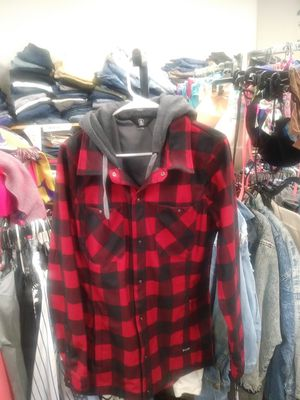 Womens Volcom Flannel Hoodie for Sale in Orlando, FL