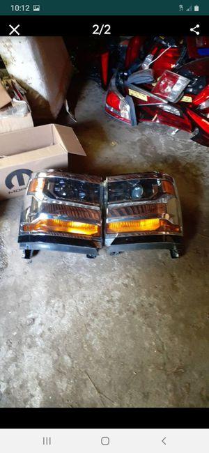 2016-2018 Chevy Silverado 1500 headlights LED oem for Sale in Dallas, TX
