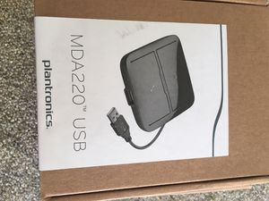 Plantronics voyager 4220uc with usb adapter #headset#bluetooth for Sale in Arcadia, CA