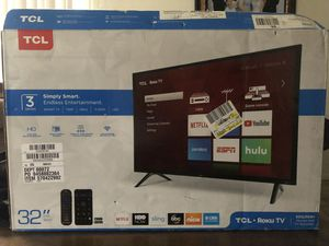 """TCL Roku Smart TV 32"""" for Sale in Dallas, TX"""