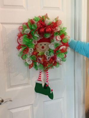 Elf wreath for Sale in Fort Wayne, IN