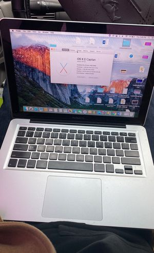 MacBook for sale w/ Charger for Sale in Houston, TX