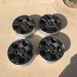 """4 16"""" Toyota Tacoma 4x4 Wheels for Sale in Mission Viejo, CA"""