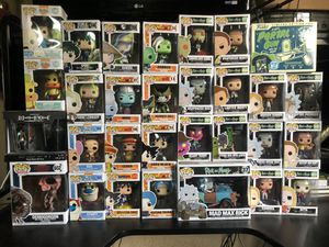 28 Funko pop Figures (Anime Edition) $175 for Sale in Los Angeles, CA