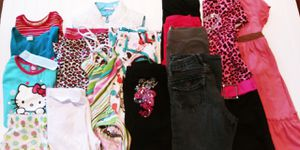 Girls size 7/8 and 8/10 kids clothes lot for Sale in Tacoma, WA