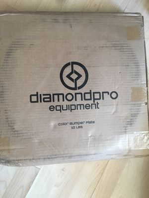 DiamondPro Olympic 10lb Bumper Weights (Pair) for Sale in Denver, CO