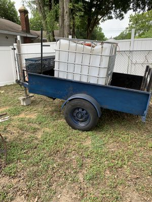 OPEN TRAILER w/WATER TOTE for Sale in Lakeland, FL