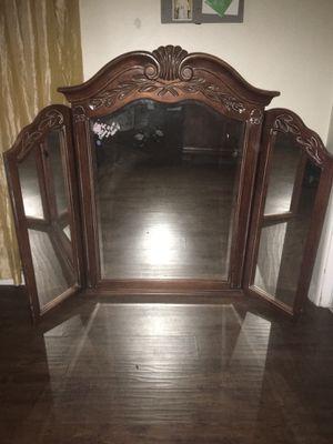 Antique folding mirror for Sale in Colton, CA