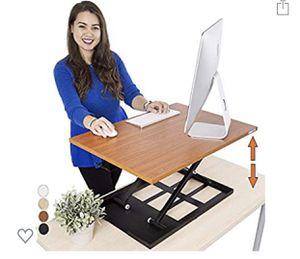 Slendor Height Adjustable Sit Stand Desk Converter for Sale in San Gabriel, CA