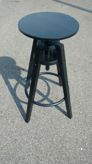Black wooden adjustable-height photographers posing stool for Sale in Columbus, OH