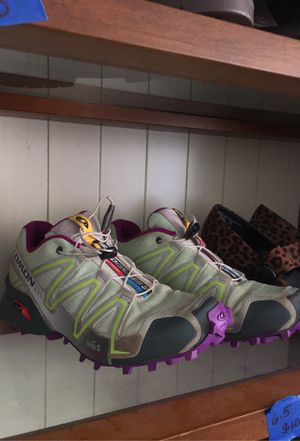Salomon Athletic shoes, m&s contagrip size 6.5 womens for Sale in Crawford, CO
