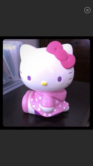 Sanrio Hello Kitty piggy bank for Sale in Fairfax Station, VA