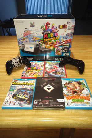 Nintendo Wii U Bundle for Sale in Las Vegas, NV