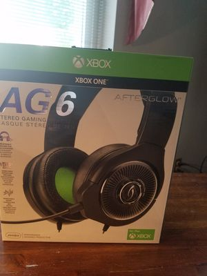 XBox One AG6 Afterglow Headset/Mic for Sale in Lexington, KY
