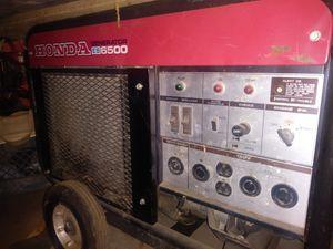 Honda generator ES6500 4 sale 🔥🔥 for Sale in Millville, CA