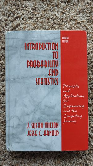 Introduction to Probability and Statistics for Sale in Columbia, MO