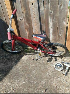 Kids Red 16 Inch Trek Bike In Great Shape Good Brakes for Sale in Portland, OR