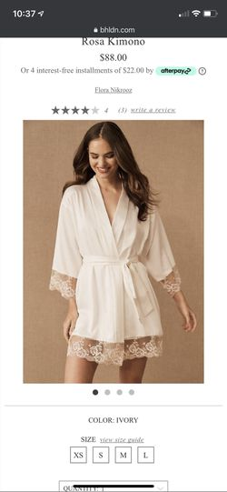 Bridal robe for Sale in Portland,  OR
