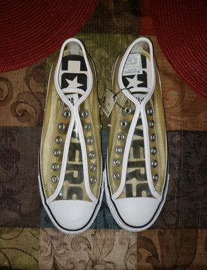 **NEW**Rare Clear Converse Size Men 7 Women 9 for Sale in Littleton, CO