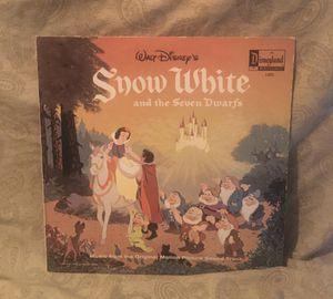 Walt Disney Snow White Vinyl LP Album for Sale in Barrington, IL