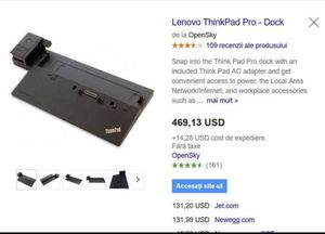Lenovo ThinkPad Ultra Docking Station for Sale in Seattle, WA