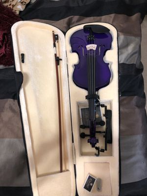Purple violin not used for Sale in Hermitage, TN