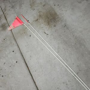 "Whip Antennas 70"" With Pennant Flags (Pair) for Sale in Chandler, AZ"