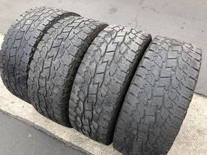 (4) 295/60R20 Toyo Open Country A/T - $160 for Sale in Santa Ana, CA