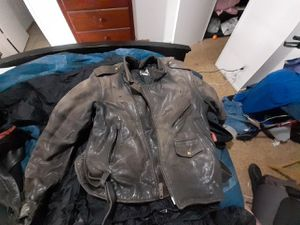 Leather motorcycle riding jacket for Sale in Clovis, CA