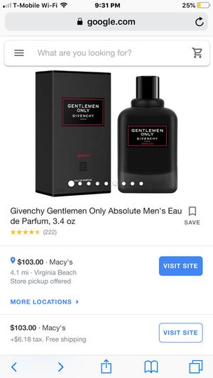 Givenchy Cologne for Sale in Virginia Beach, VA