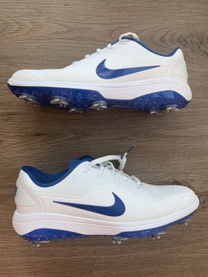 Nike React Vapor 2 Golf Shoes |Size 10 | White Indigo Force for Sale in Dallas, TX