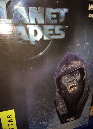 Planet of the apes gorilla soldier Attar bust by Neca $30 for Sale in Bartlett, IL