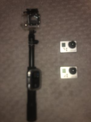 GoPro Hero 3 & 3+ w/ Selfie Stick & Remote for Sale in Irving, TX