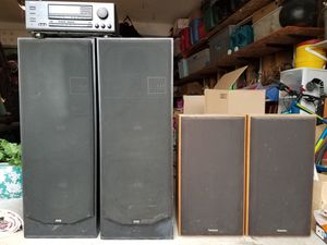 Speakers and Amp for Sale in Littleton, CO
