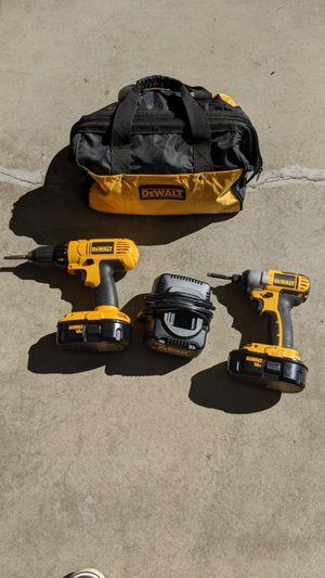 DeWalt drill set like new for Sale in Holladay, UT