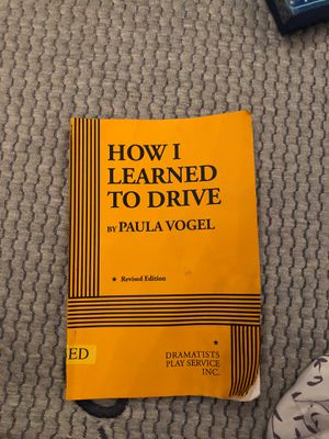 How I learned to drive Paula Vogel for Sale in Chino Hills, CA