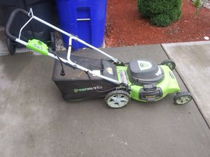 Electric lawn mower for Sale in North Providence, RI