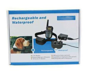 NEW Pet Training 330 Yards Remote 4 in 1 Pet Training Collar (shipping only) for Sale in Seattle, WA