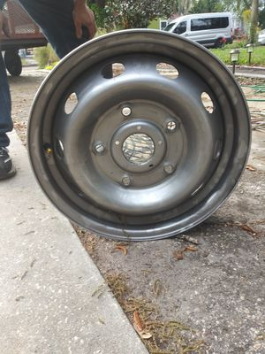 Factory steel rims. for Sale in Orlando, FL