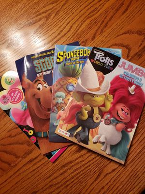 Activity Books (set of 4) for Sale in Parma, OH
