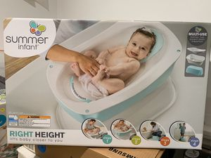 Summer infant bather tub for Sale in Gaithersburg, MD