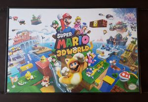 Super Mario 3D World & Pokemon Poster for Sale in Columbus, OH