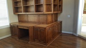 Set of bookshelves, library cabinets for Sale in Corona, CA