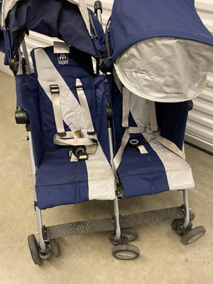 Maclaren - double stroller. Great condition- (pick up in Plano (75 and Spring Creek)) for Sale in Plano, TX